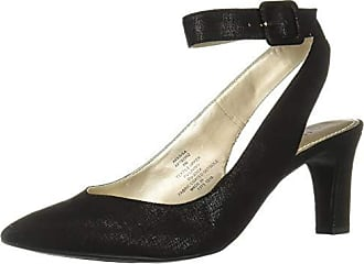 Anne Klein Womens KAISA Pump, Black Fabric 9.5 M US