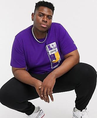 New Era Plus - NBA Los Angeles - Foto-T-Shirt in Violett