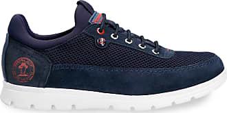 Panama Jack Mens Shoes Davor C23 Velour Marino/Navy 45 EU