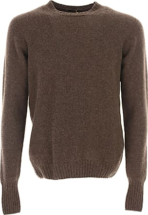 4d992806553106 Drumohr Sweater for Men Jumper On Sale in Outlet, Brown, Lambswool, 2017,
