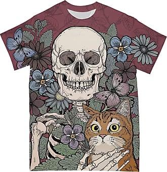 NA Skull and Cat 3D Shirt