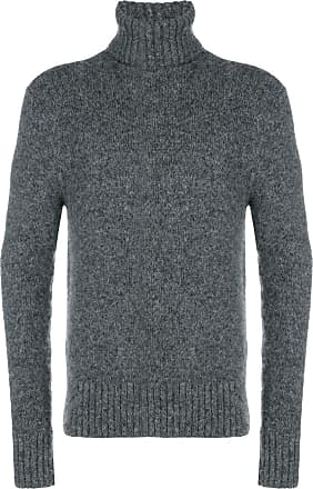 Ami Turtle Neck Sweater - Grey