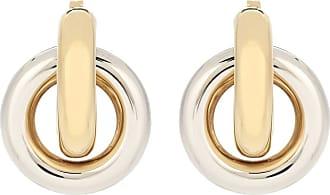 J.W.Anderson Double Link hoop earrings