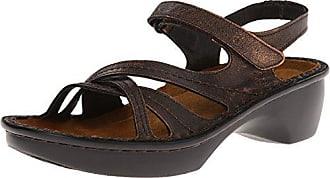 Naot Naot Womens Paris Wedge Sandal, Burnt Copper, 41 EU/10 M US