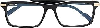 Cartier Armação de óculos retangular - Preto