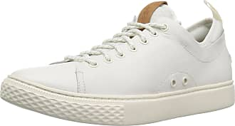 Polo Ralph Lauren Mens DUNOVIN Sneaker, White, 14 UK