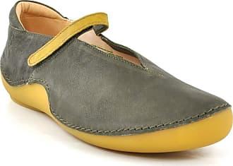 5761ce0815 Think Womens Kapsl 484065 Ankle Strap Ballet Flats