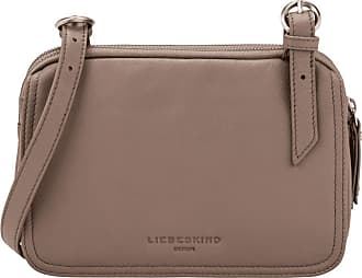 Liebeskind Womens Bos - Mareike Crossbody Small Satchel Bag, Brown (Cold Grey), 8x16x25 Centimeters (B x H x T)