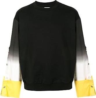Wooyoungmi Suéter jeans tie-dye - Preto