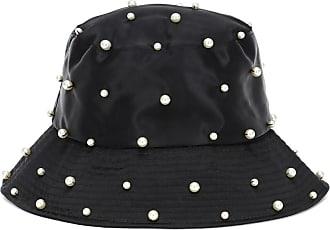 Jennifer Behr Mallorie embellished satin bucket hat