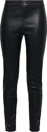 Elie Tahari Elie Tahari Woman Stretch-leather Leggings Black Size XS