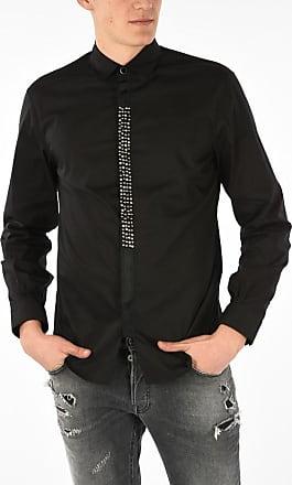 Just Cavalli Hidden Closure Shirt with Studs size 48