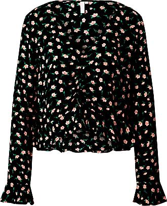 Pieces Shirt rosa / schwarz