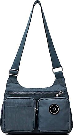 GFM Womens Nylon Waterproof Cross Body Shoulder Bag (S1-3121-JNSNL)