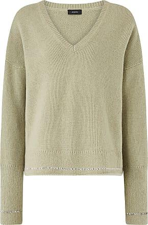 Joseph V Neck Open Cashmere Knit