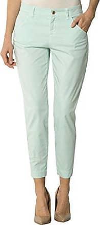652f9b18d7e900 Joop Damen Hose Baumwollmix Pant Gepunktet, Größe: 42, Farbe: Grün