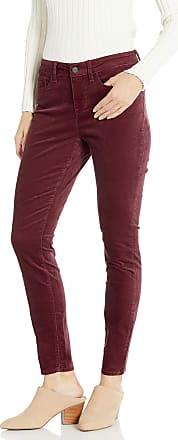 NYDJ Womens AMI Skinny Legging Velvet Jeans, Grenache, 10 29