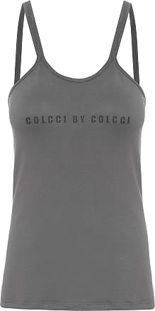 Colcci Fitness Regata Estampada - Cinza
