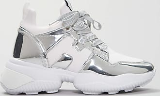 Rabaini Hogan - Sneakers - Interaction- Slip - On - Argento