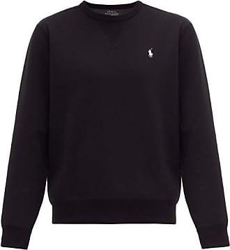 Polo Ralph Lauren Logo-embroidered Technical Sweatshirt - Mens - Black