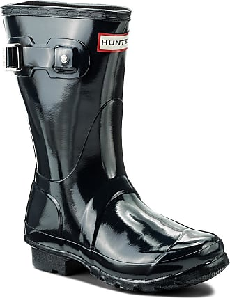 Hunter Botas de agua HUNTER - Org Short Gloss WFS1000RGL Navy a27bdd1f98b
