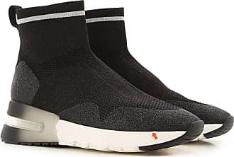 Ash Sneaker für Damen, Tennisschuh, Turnschuh Günstig im Sale, Schwarz, Gewebe, 2019, 35 36 37 38 39 40