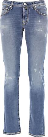 Jacob Cohen Jeans On Sale, Denim Blue, Cotton, 2019, US 30 - EU 46 US 31 - EU 47 US 33 - EU 49