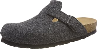 Rohde Mens Grado Open Back Slippers, Grey Anthracite 82, 9.5 UK