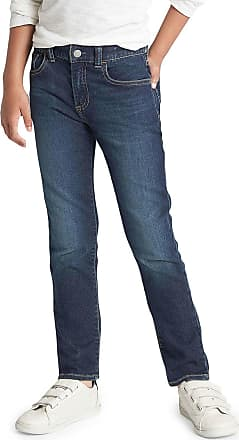 GAP Calça Jeans GAP Reta Estonada Fantastiflex Azul