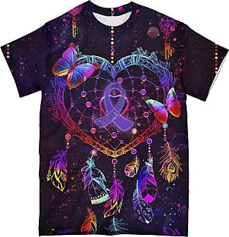 NA Alzheimer Butterfly Dreamcatcher 3D Shirt