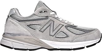 New Balance Womens 990 V4 Running Shoes, Grey