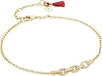 Shashi Chain Link Pave Bracelet