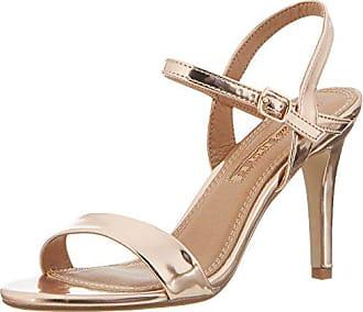 Buffalo Shoes Damen 314258 METALLIC PU HM 333 Knöchelriemchen, Beige  (Champagne 01), 3c7b207d45