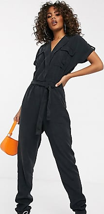 Noisy May utility jumpsuit-Black