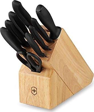 Victorinox by Swiss Army Swiss Army Cutlery Swiss Classic Knife Block Set, 10-Piece