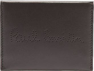 Paul Smith Perforated-logo Leather Receipt Holder - Mens - Black