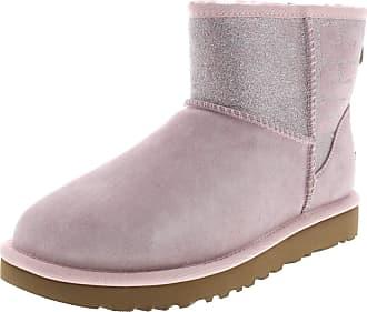 682cc6361 UGG UGG - Boots CLASSIC MINI SPARKLE - seashell pink Size: 8 UK