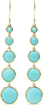 Ippolita Lollipop Lollitini 18-karat Gold Turquoise Earrings