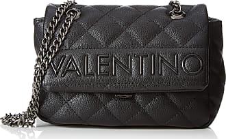 4775693fcb Mario Valentino Mario Valentino Womens VBS2ZR07 Satchel Black Black (Black)