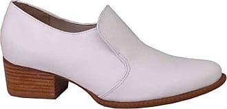 Dina Mirtz Sapato Branco Redondo Dina Mirtz