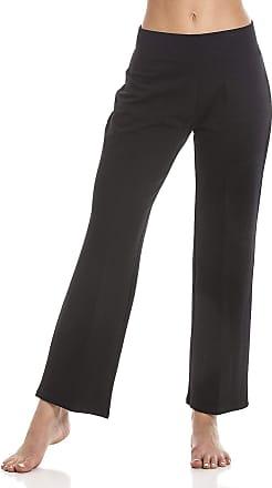 Camille Womens Short Length Black Lycra Jogging Bottoms 10