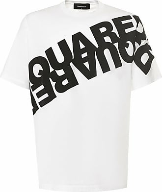 Dsquared2 T-shirt in jersey bianco