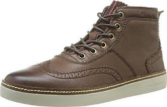 Chaussures Tommy Hilfiger pour Hommes en Marron : 24