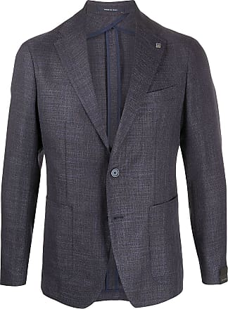 Tagliatore slim-fit tailored blazer - Blue