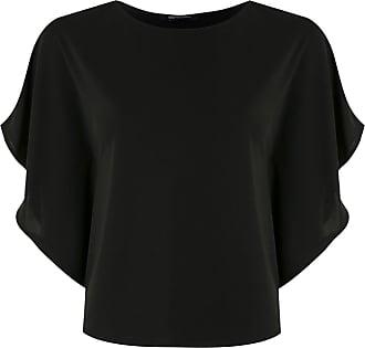 Uma Blusa Charlote - Di colore nero