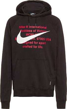 Nike NSW Swoosh Hoodie Herren in black-white, Größe XXL