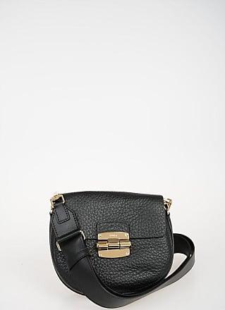 Furla Leather Saddle Bag size Unica
