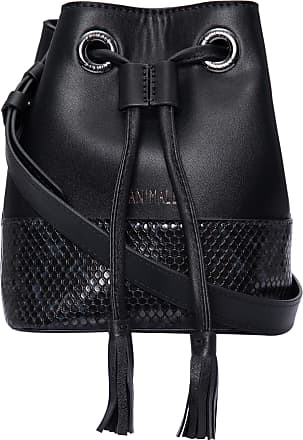 Animale BOLSA FEMININA BUCKET SNAKE COLOR - PRETO