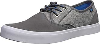 Quiksilver Mens Shorebreak Deluxe Sneaker, Grey/White, 6(39) M US