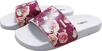La Faire Chinelo Slide La Faire Flores de Rosas (33/34, Sola Branca)